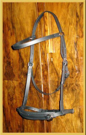 Pioneer Head Shy Sidepull Bridle-0