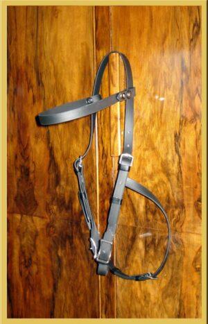 Pioneer Head Shy Hackamore Bridle-0