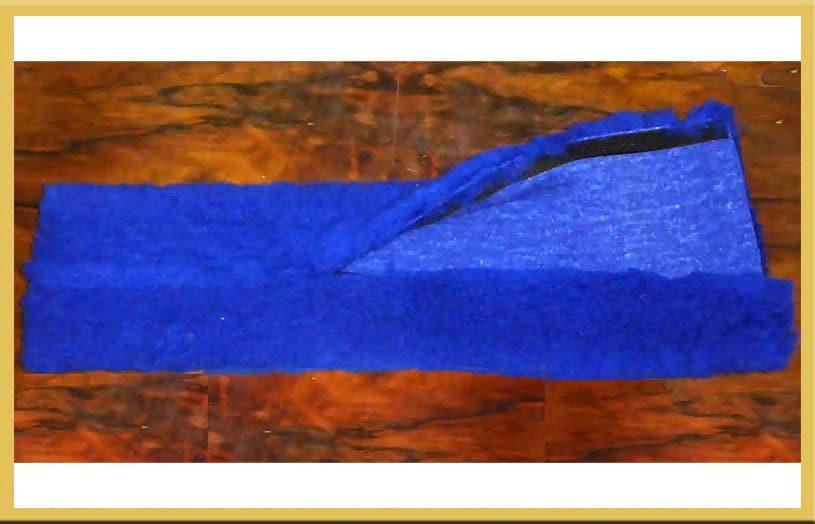 Wool Blend Girth Sleeve - Velcro-0